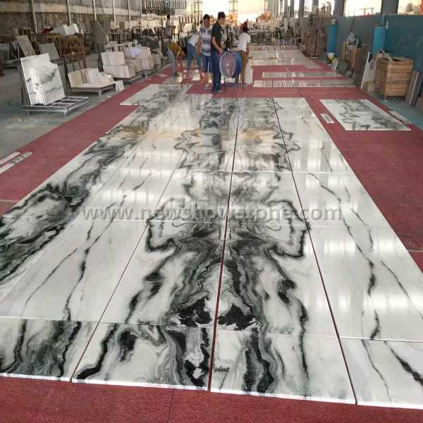 Panda White Marble Tiles for Project